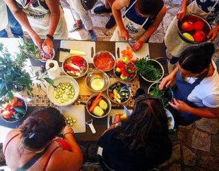Koken bij Konavle familie
