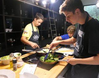 Kookworkshop voor kinderen: kinderen aan het koken