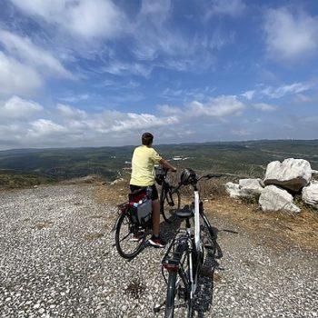 Met elektrische fietsen door Portugal