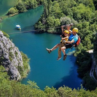 zipline in OMis