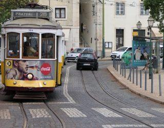 typische tram Lissabon