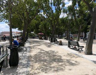 Mooi wandelpad Lissabon