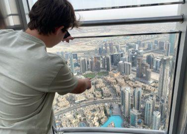 Naar de top van de wereld (Burj Khalifa)