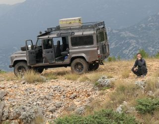 Met de jeep door het Velebit gebergte