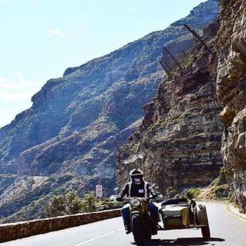Tour rond Kaapstad op de motorfiets in de zijspan