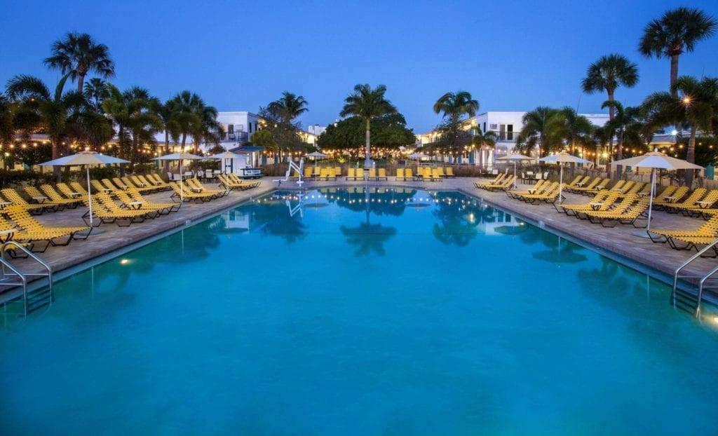Vertrek uit Clearwater/St. Petersburg hotel: zwembad