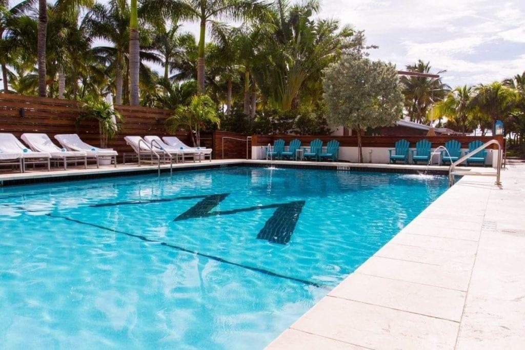 Hotel Miami: zwembad