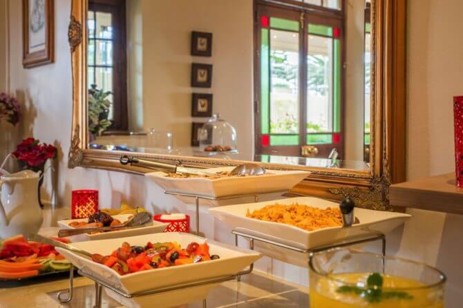 lodge in Kaapstad: ontbijt