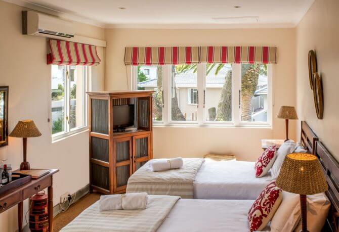 lodge in Kaapstad: kamer
