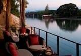 Kanchanaburi hotel: terras