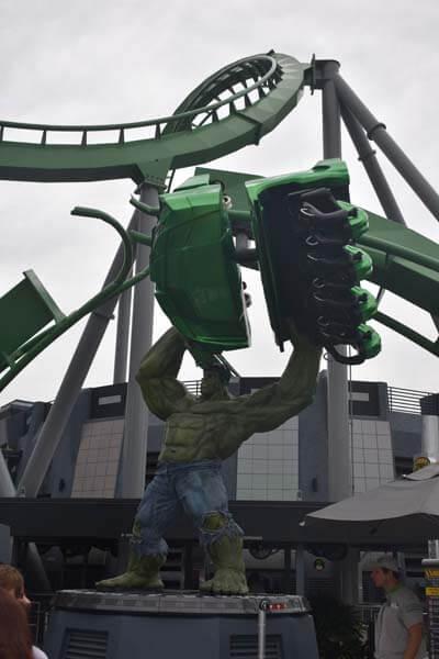 Universal Studios: the Hulk