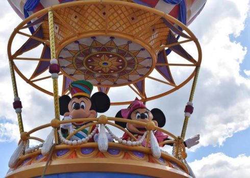 DisneyWorld in Orlando met kinderen