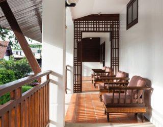 hotel Chiang Mai: terras