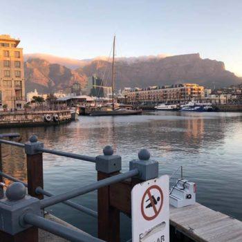 Kaapstad: uitzicht op de Tafelberg