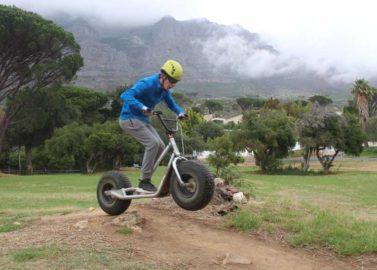 Met supersteps van de Tafelberg