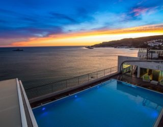 zwembad hotel in Sesimbra