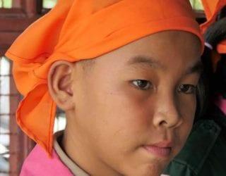 Thaise schoolkinderen