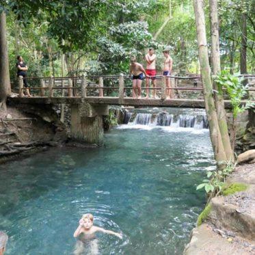 Khao Yai park, waterval
