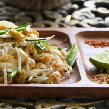 Thaise kookles: eten