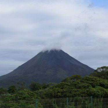 De actieve vulkaan Arenal