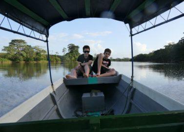 Jungle avontuur op de boot met kinderen