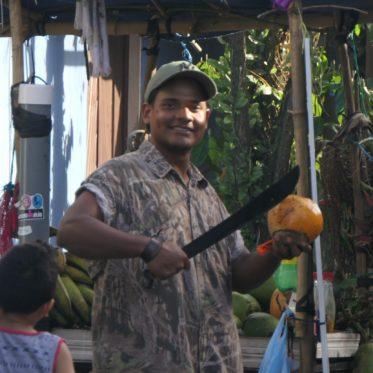 Tortuguero lokale bevolking