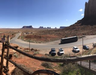Monument Valley lodge, bij de indianen