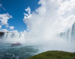 De spetterende Niagara Falls