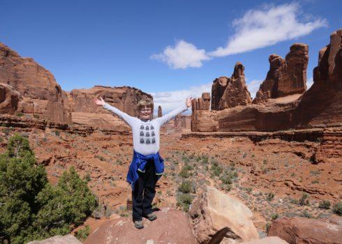 Arches National Park met kinderen