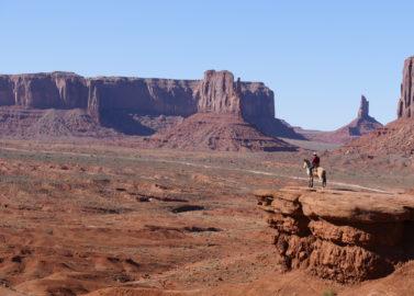 Monument Valley met de Navajo-Indianen