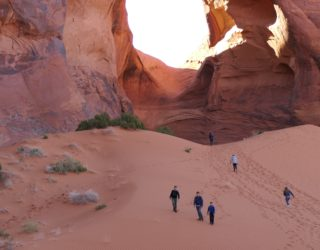 Monument Valley met kinderen