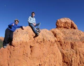 Bryce Canyon West-USA met kinderen