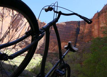 Op de fiets cruisen door Zion National Park