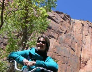 Zion National park met de fiets met kinderen