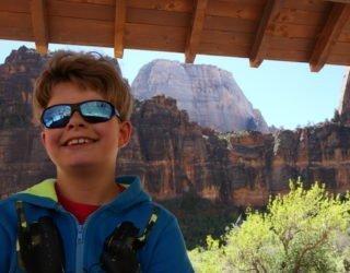 Zion National park met kinderen