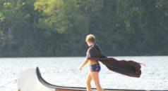 Peddelen in Canada met kinderen