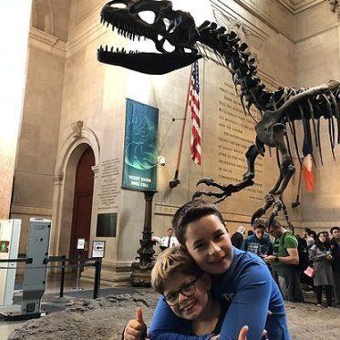 Natural Museum of History met kinderen