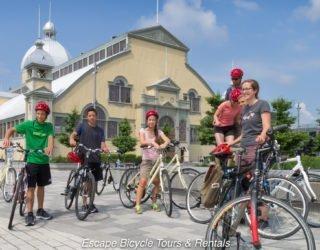 fietsen door de mooie hoofdstad Ottawa