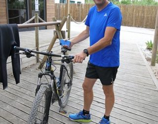 fietstocht in Portugal