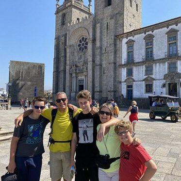 Familiefoto in Porto