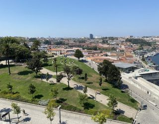 Uitzicht over de stad Porto