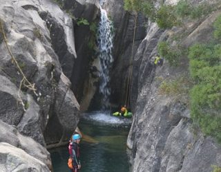 waterval canyons