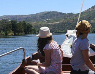 Op de unieke boot