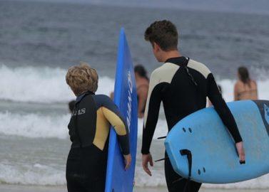 Gaan surfen