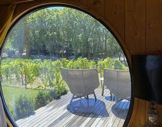 Unieke kamer in een wijnton!