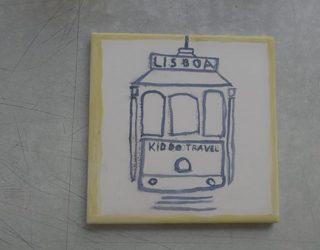 Resultaat tram schilderij
