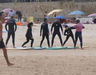 Leren surfen in groep
