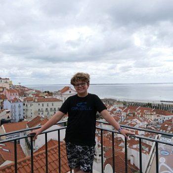 Prachtig zicht over Lissabon