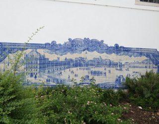 typisch blauwe tegels Lissabon