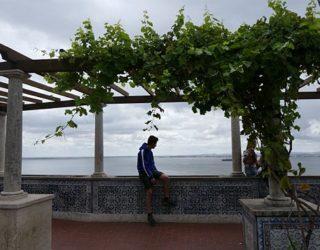 uitzichtpunt over Lissabon